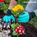 Gants de Jardinage avec Griffes pour Creuser Innov