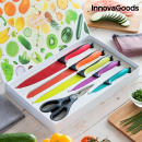 InnovaGoods Swiss·Q Fashion Ceramic Coated Knives
