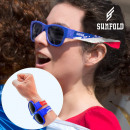 wholesale Crockery: Sunfold World Cup France Roll-Up Sunglasses