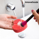 InnovaGoods Heart Brush Cleaner