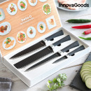 InnovaGoods Black Shark Swiss-Q Namiutsu Messerset