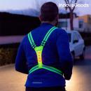 Harnais Réfléchissant avec LED pour Sportifs Innov
