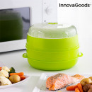 wholesale Microwave & Baking Oven: InnovaGoods Fresh Microwave Double Steamer