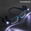 Clip LED pour Lunettes 360° InnovaGoods (Pack de 2