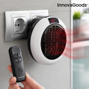 InnovaGoods Mini Ceramic Plug Heater with Remote C