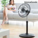 Großhandel Klimageräte & Ventilatoren: InnovaGoods Standventilator mit 360º ...