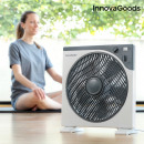 InnovaGoods Box Ø 30 cm 50W White Grey Floor Fan