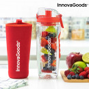 InnovaGoods Infruitssion Infuser Bottle XL - Red