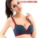 Soutien Gorge Fashion Sports Bra - Rose - XL
