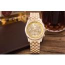 groothandel Armbandhorloges:Horloge, goud