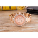 Wristwatch with Date, pink gold