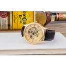 groothandel Armbandhorloges: Mechanische klok  met gouden kleur, zwart, bruin le