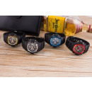 Großhandel Armbanduhren: Elektrische Uhr, 4 Farben sortiert mit zwei Werken