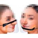 Face visor, visor, mouth-nose visor