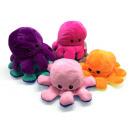 Großhandel Puppen & Plüsch: Oktopus Plüsch doppelseitiges Flip, 30cm