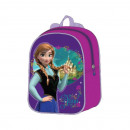 wholesale Bags: Backpack 24cm Snow Queen Snow Queen Anne frozen