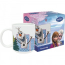 Ceramic mug The Ice Queen - Olaf frozen