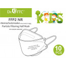 wholesale Drugstore & Beauty: Respirator, face mask FFP2 child mask, 10 pieces
