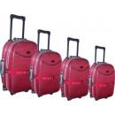 groothandel Koffers & trolleys:Reis koffer 8858-4 rood