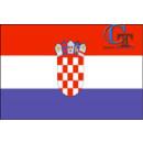 Fahnen,Kroatien