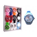 Silicone watch wrist watch