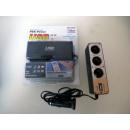 groothandel Accu's, kabels & adapters: Auto adapter voor sigarettenaansteker  3 + USB