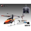 wholesale Models & Vehicles: Gyro RC Helicopter  Single Blade 2.4G, 4CH V911