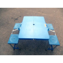 wholesale Camping: Folding camping  table with 2 benches Abs