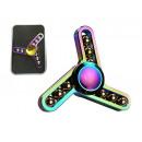 Fingertop fidget spinner arc métallique
