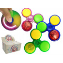 wholesale Toys: Finger gyro fidget  spinner with LED New trend