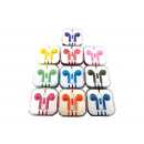 New Handy  headphones with microphones colorful