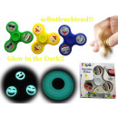 Fingertop luminescent fidget spinner Nouveau T