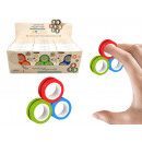 Anti-stress magnetic rings, the new big one fidget