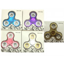 Fingerkreisel Fidget Spinner metallic look