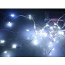 Weihnachts LED Lichterkette aus Kupferdraht 3m mit