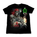 ingrosso T-shirts & Tops: Selvaggio pirata Glow in the Dark