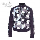 wholesale Pullover & Sweatshirts: Girlie sweater  with skulls on Camouflage