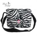 ingrosso Borse & Viaggi: Webpeltz Shoulder  Bag in zebra nero / bianco con