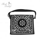 Paisley bag PU black / white