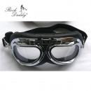 Motorrad Brillen transparente Gläser