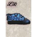 wholesale Shoes: Little Diamond  Indian style baby shoes blue