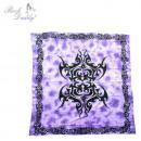Großhandel Bettwäsche & Matratzen: Bettdecke groß in  lila mit Tribal Muster