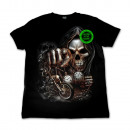 ingrosso T-shirts & Tops: Selvaggio morte Glow in the Dark