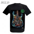 Wild Skull Guitar Glow in the Dark