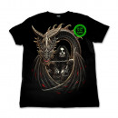 ingrosso T-shirts & Tops: Selvaggio Dragon  Girl Glow in the Dark