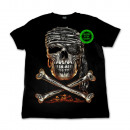 ingrosso T-shirts & Tops: Selvaggio Jolly  Roger Glow in the Dark