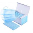 Légzésvédő maszk, szájmaszk, háromrétegű szájmaszk