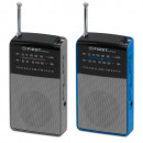 AM / FM POCKET RADIO BLUE