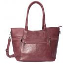 wholesale Handbags: Tote / shoulder bag wine red