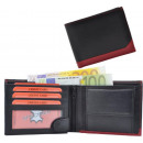 wholesale Bags & Travel accessories: Purse Wallet Black / Red - Stripe